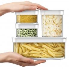 Контейнер для сыпучих продуктов низкий OPTIMA