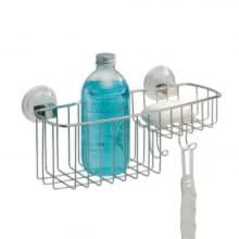 Корзина с мыльницей в ванную Reo на присоске Power Lock