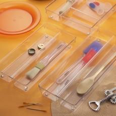 Органайзер-лоток для кухонных ящиков Linus двойной