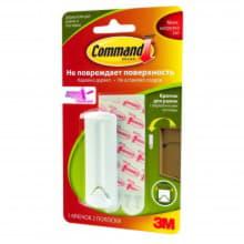 Легкоудаляемый крючок для рамок с веревочными петлями Command