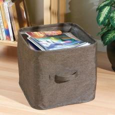Текстильная корзина для хранения квадратная York