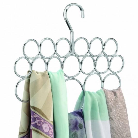 Вешалка для шарфов и платков с 18 петлями Axis