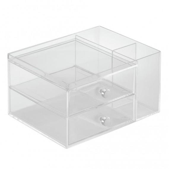 Органайзер с 2 выдвижными ящиками и боковым отделением Clarity