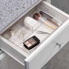 Раздвижной органайзер для косметики в выдвижной ящик