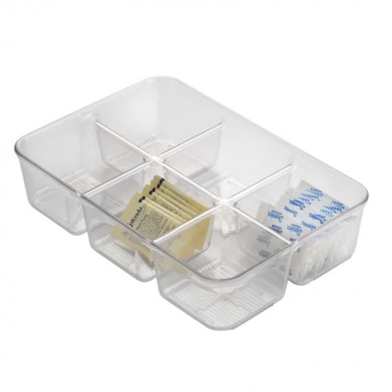 Органайзер для пакетиков с 6 отделениями