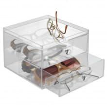 Органайзер для очков с 2 выдвижными ящиками Clarity Stacking