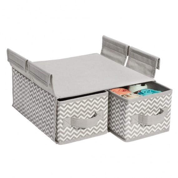 Подвесной кофр с 2 выдвижными ящиками для проволочных полок Axis