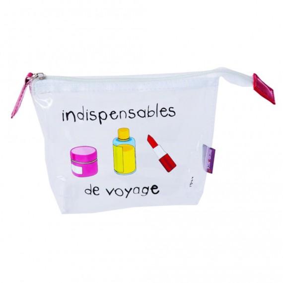 Дорожная косметичка с емкостями Indispensables De Voyage