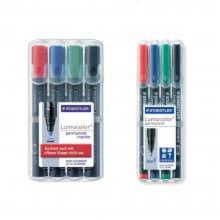 Набор перманентных маркеров Lumocolor