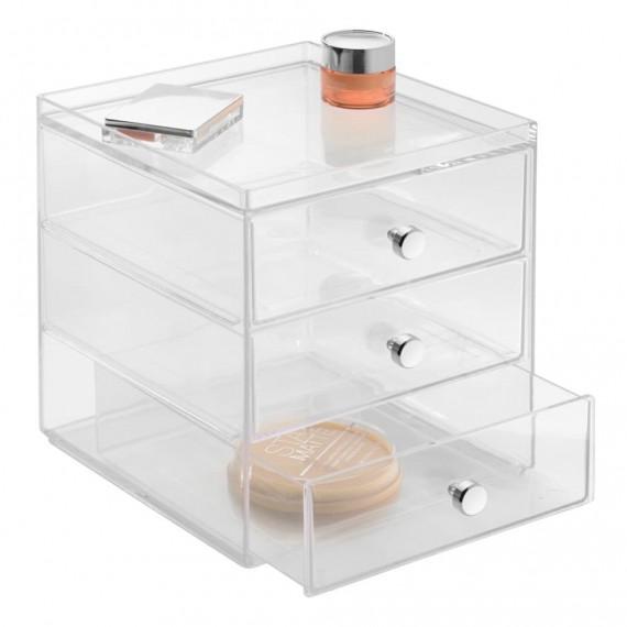 Органайзер с 3 выдвижными ящиками Clarity