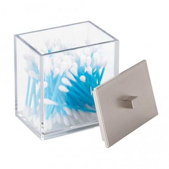 Контейнер для ватных дисков и палочек Clarity