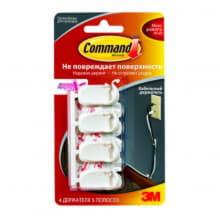 Легкоудаляемые держатели для проводов Command