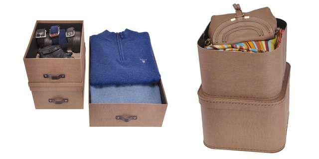 Набор коробок для хранения вещей