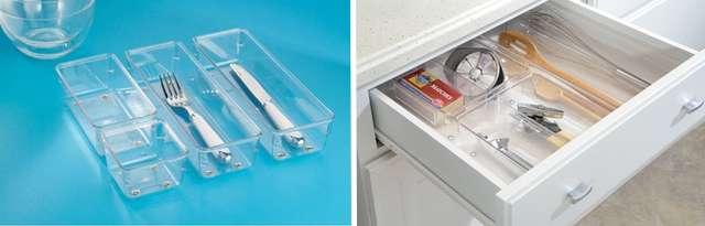 Органайзеры для кухонных ящиков