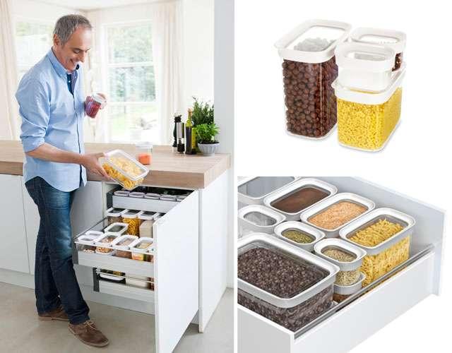 Система для хранения сыпучих продуктов Optima