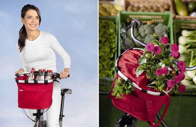 Корзина для велосипеда на руль
