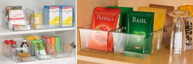 Органайзеры для пакетиков со специями