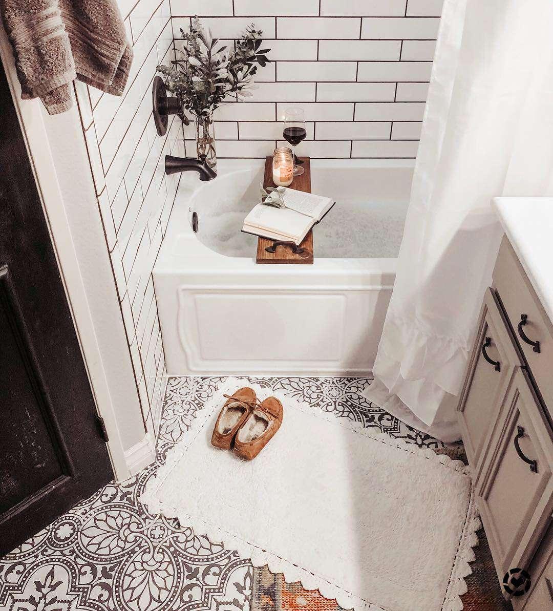 организация в маленькой ванной