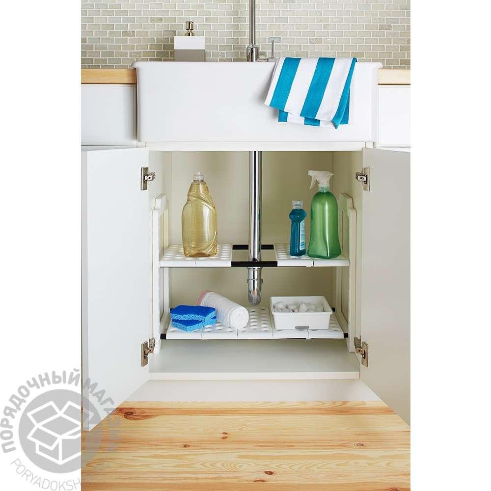 madesmart-undersink-shelf-organizer