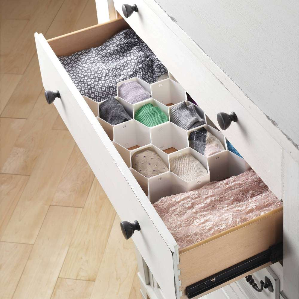 whitmor-honeycomb-drawer-organizer