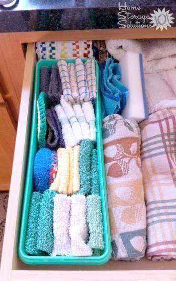 dish-towel-organization