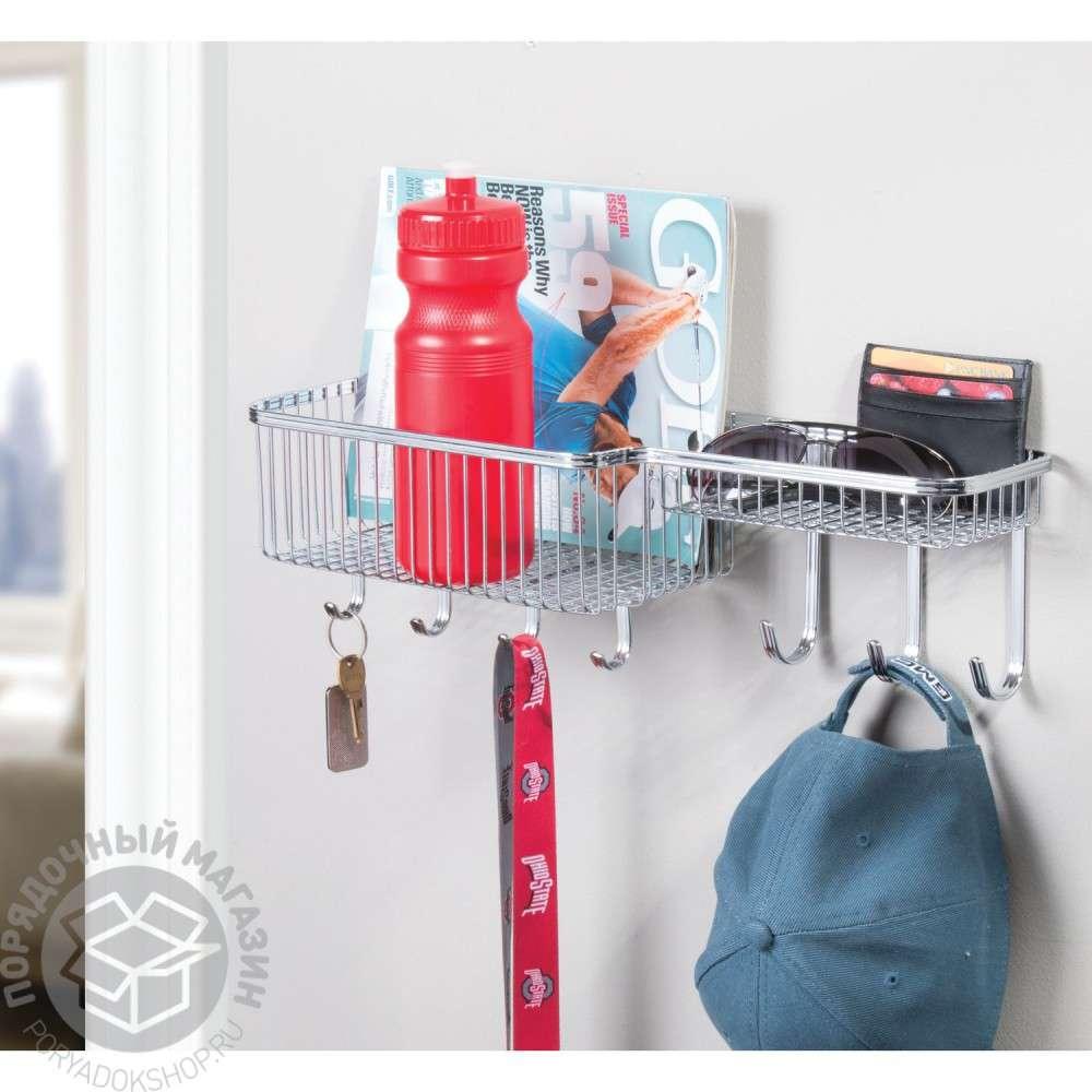interdesign-york-lyra-wall-mounth-entryway-basket