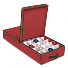 Органайзер для елочных игрушек под кровать