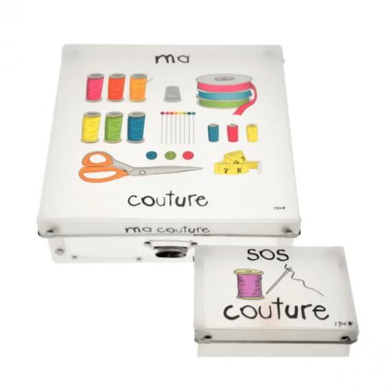 Коробка с отделениями для швейных принадлежностей Ma Couture