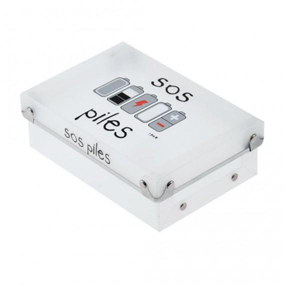 Коробка для батареек SOS Piles