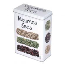 Металлический контейнер для круп Gourmet Légumes Secs