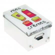 Коробка для косметики Mes Cremes