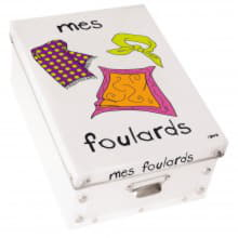 Коробка для платков Mes Foulards