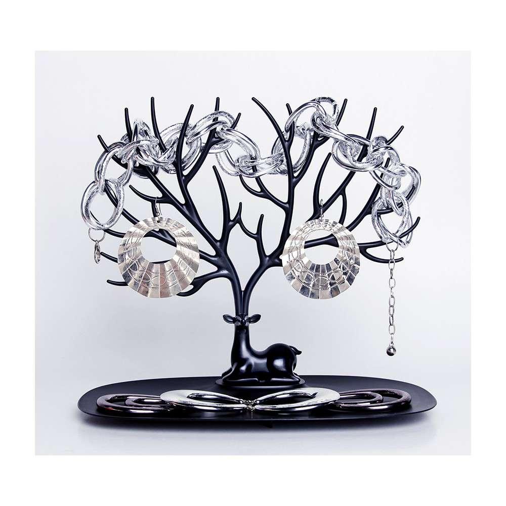 qualy-organizer-jewelry-deer-black (1)